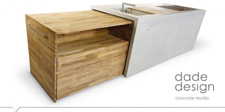 Medium Size of Outdoorkche Dade Concrete Design Works Fliesen Für Küche Mit Tresen Arbeitsplatten Keramik Waschbecken Musterküche Einrichten Wasserhahn Lüftung Wellmann Wohnzimmer Outdoor Küche Beton