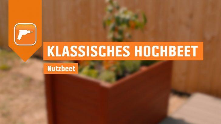 Medium Size of Hochbeet Aus Holz Bauen Nutzbeet Obi Youtube Garten Wohnzimmer Hochbeet Hornbach