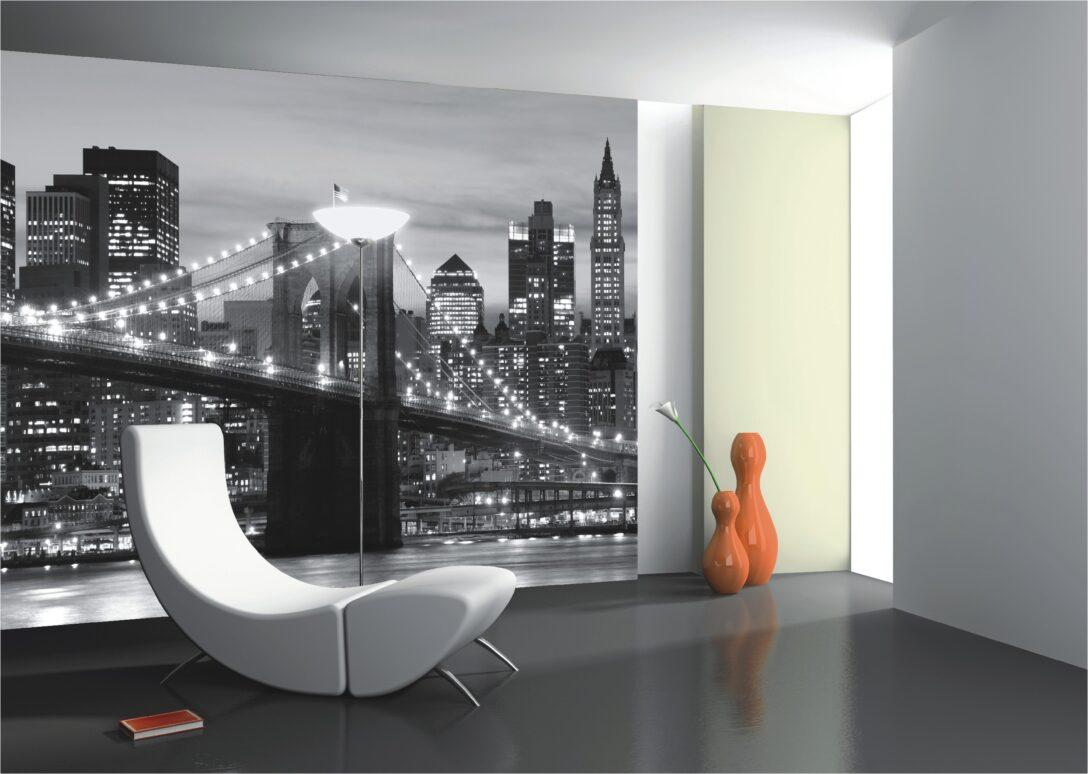 Large Size of Schöne Wohnzimmer Fototapete New York Tapete Und Schne Raumdekoration Deckenlampen Für Fototapeten Led Deckenleuchte Stehleuchte Hängelampe Schrank Tapeten Wohnzimmer Schöne Wohnzimmer