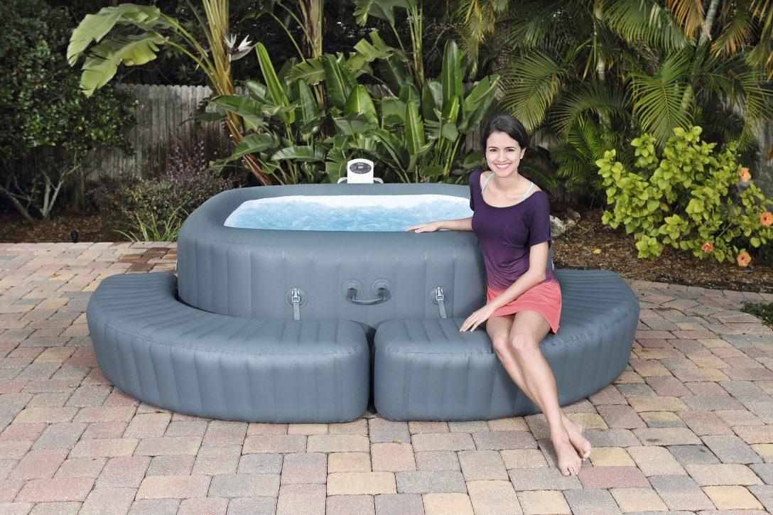 Large Size of Einfassung Eckig Fr Whirlpool Aufblasbar Lay Z Spa Garten Wohnzimmer Whirlpool Aufblasbar