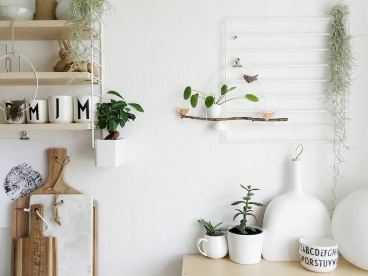 Medium Size of Wanddeko Ideen Deko Und Blumenstrue Mit Pflanzen Wenn Sich Der Frhling Wohnzimmer Tapeten Bad Renovieren Küche Wohnzimmer Wanddeko Ideen