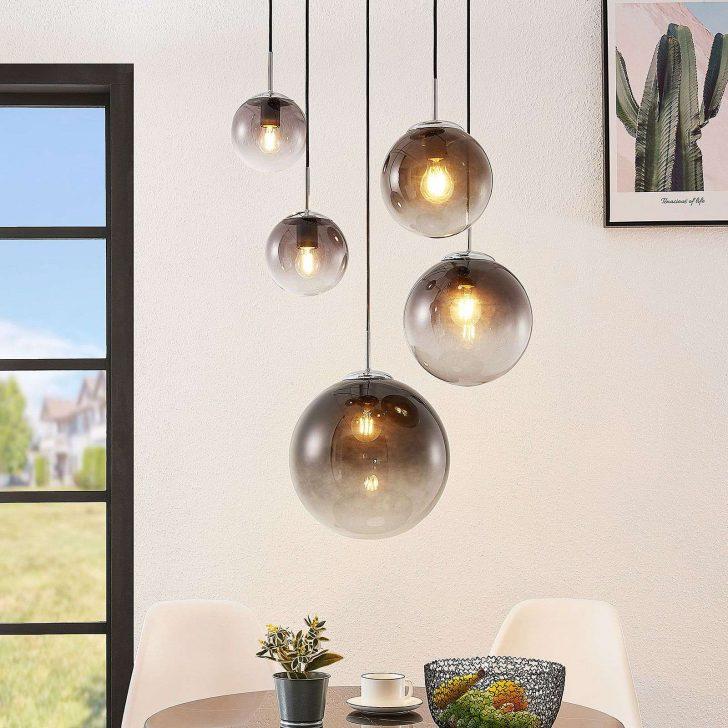 Medium Size of Wohnzimmer Hängelampe Lindby Robyn Pendelleuchte Lampenwelt Hngelampe Glas Rauchgrau Moderne Deckenleuchte Deckenlampen Modern Teppiche Beleuchtung Bilder Wohnzimmer Wohnzimmer Hängelampe