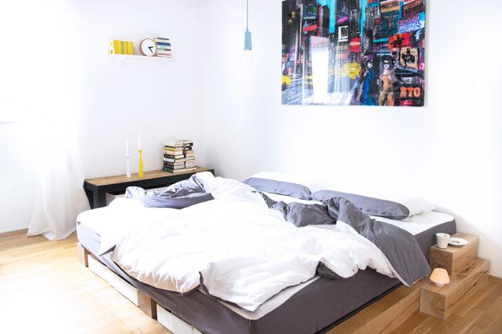 Medium Size of Bett Selber Bauen Diy Anleitung Zum Eines Massiv Holz Bettes Weißes 180x200 Günstig Kopfteil Futon Lattenrost Betten Für übergewichtige Zusammenstellen Wohnzimmer Bett Selber Bauen