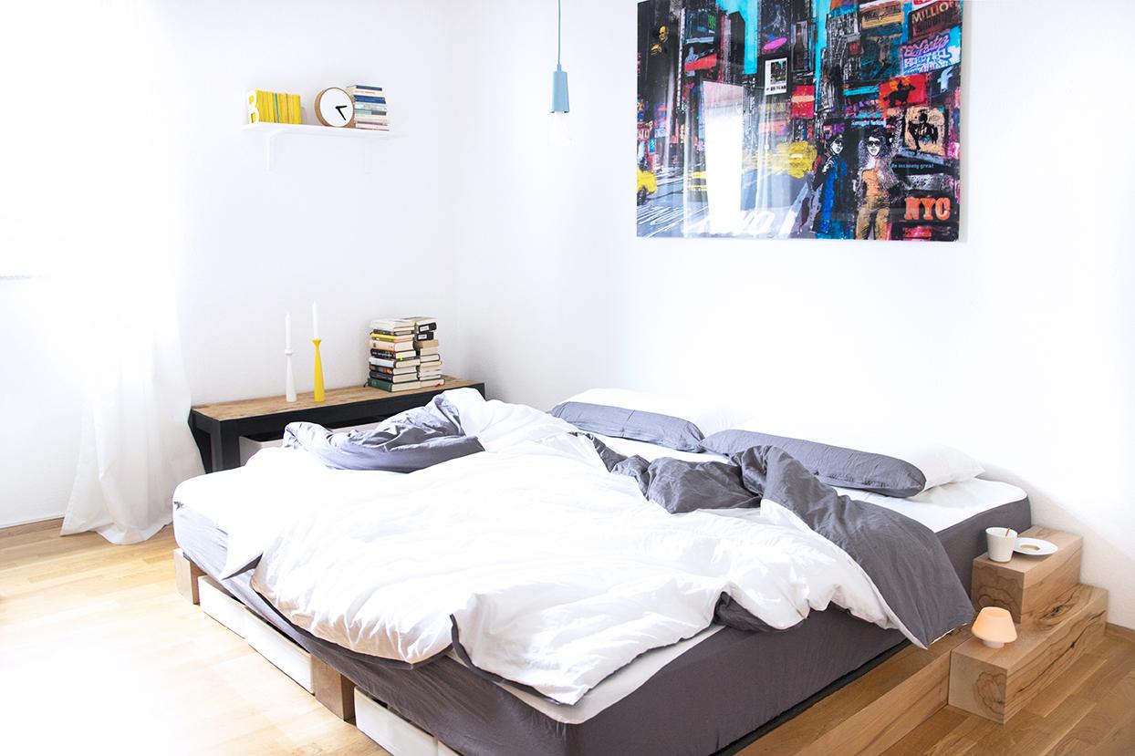Full Size of Bett Selber Bauen Diy Anleitung Zum Eines Massiv Holz Bettes Weißes 180x200 Günstig Kopfteil Futon Lattenrost Betten Für übergewichtige Zusammenstellen Wohnzimmer Bett Selber Bauen