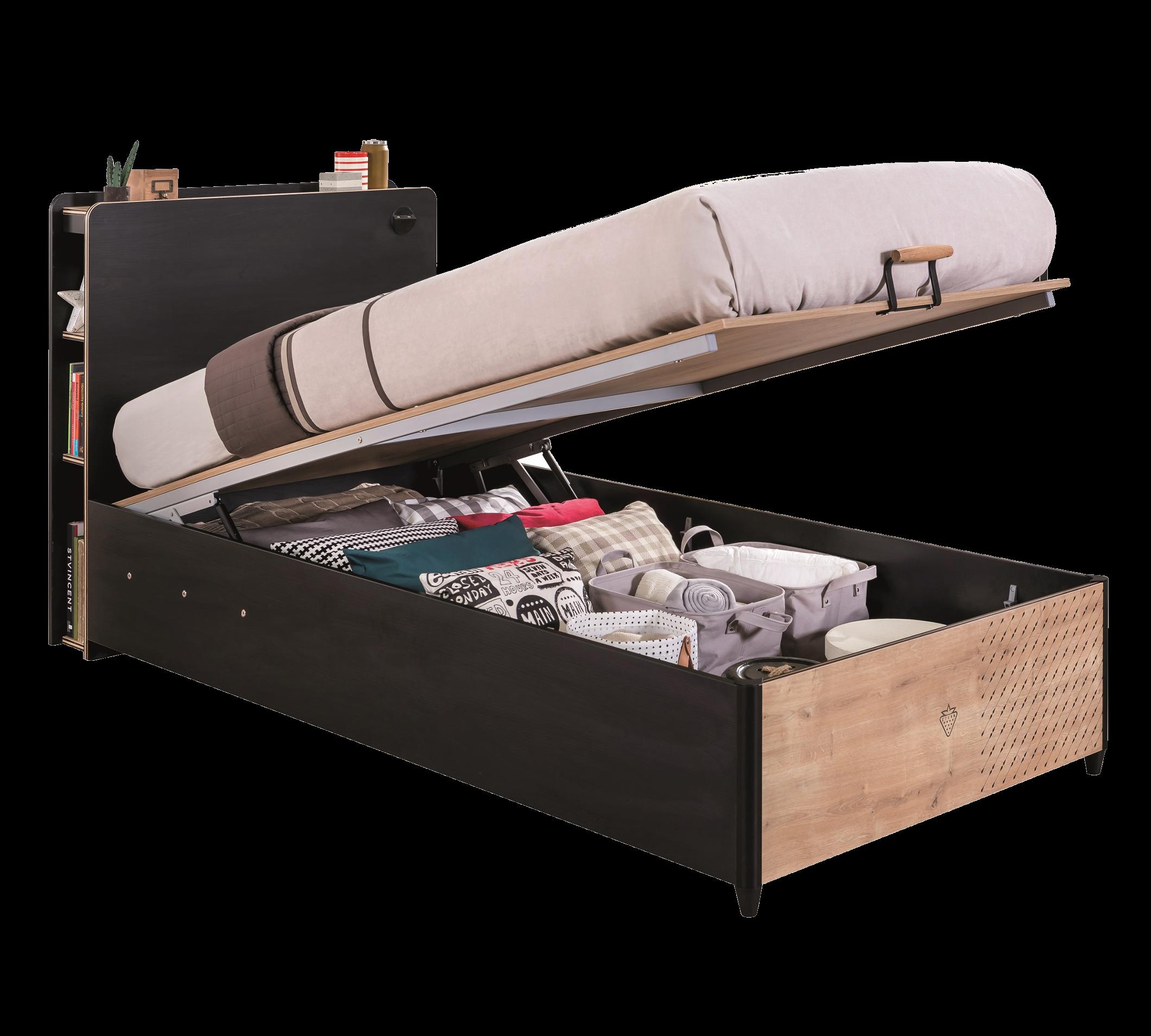 Full Size of Stauraumbett 120x200 Cilek Black Bett Mit Matratze Und Lattenrost Betten Weiß Bettkasten Wohnzimmer Stauraumbett 120x200