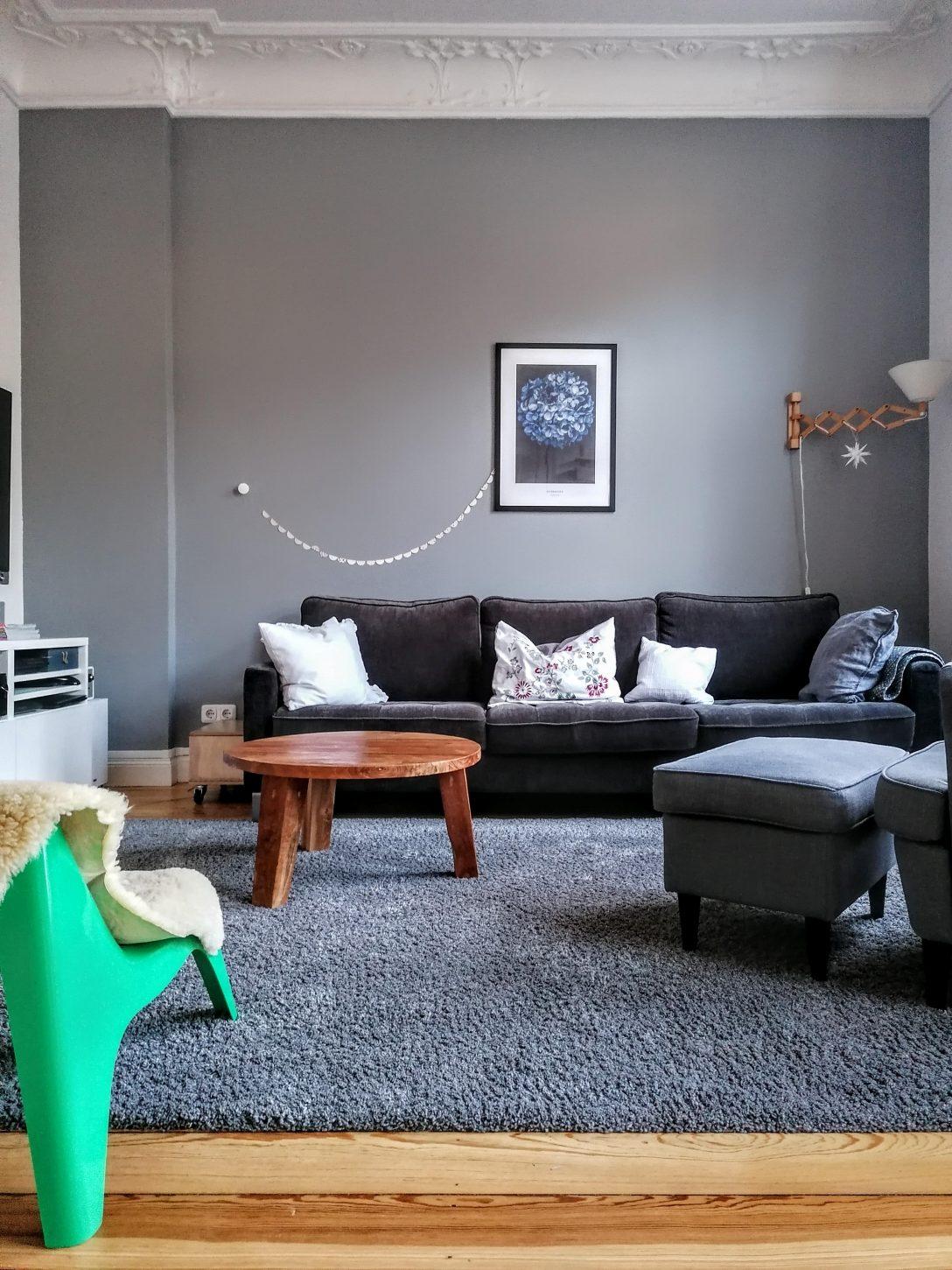 Large Size of Wohnzimmer Ideen Grau Graue Wand Bilder Couch Liege Graues Sofa Sessel Modern Küche Hochglanz Deckenleuchte Landhausstil Teppich Esstisch Deko Großes Bild Wohnzimmer Wohnzimmer Ideen Grau