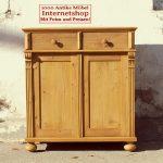 Küchenanrichte Wohnzimmer Kommode Fichte Massiv Antik Mbel Antiquitten Alling Bei
