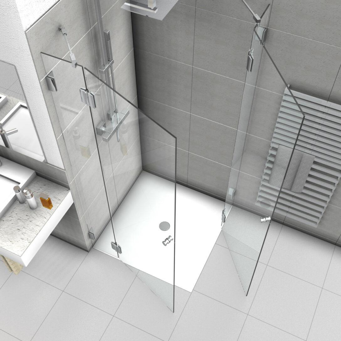 Large Size of Dusche Eckeinstieg Duschabtrennung Mit Zwei Duschtren Thermostat Bluetooth Lautsprecher Mischbatterie 90x90 Fliesen Begehbare Ohne Tür Grohe Unterputz Schulte Dusche Dusche Eckeinstieg