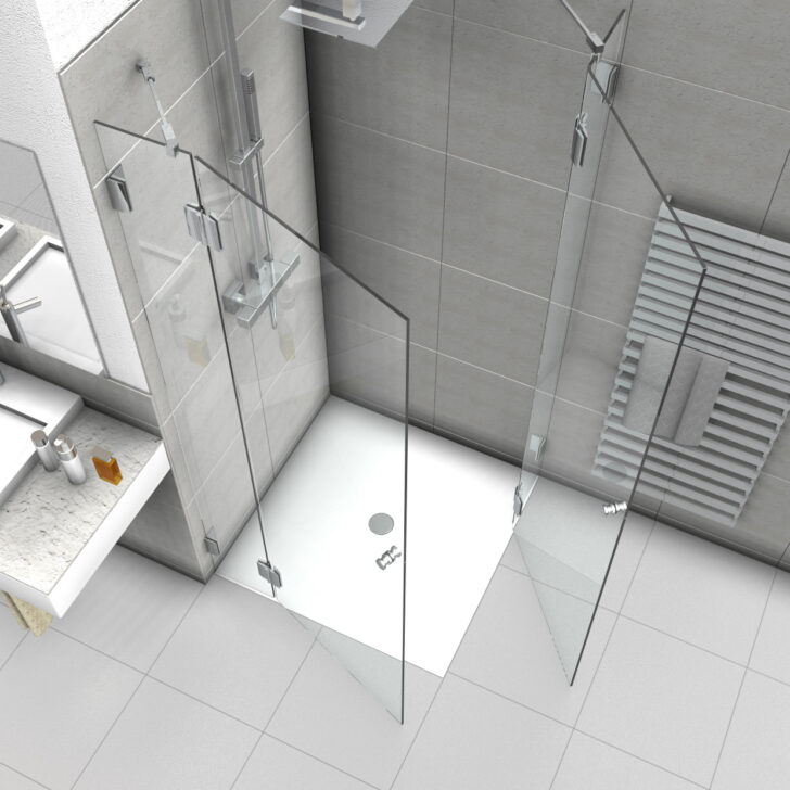 Medium Size of Dusche Eckeinstieg Duschabtrennung Mit Zwei Duschtren Thermostat Bluetooth Lautsprecher Mischbatterie 90x90 Fliesen Begehbare Ohne Tür Grohe Unterputz Schulte Dusche Dusche Eckeinstieg