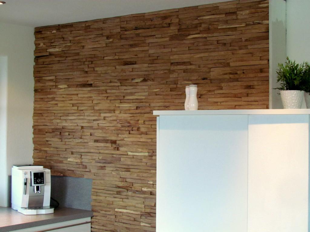 Full Size of Wandverkleidung Küche Kollektion Cuts Eine Rustikale Wandpaneele Aus Massivholz Einbauküche L Form Billig Kaufen Hängeregal Arbeitsplatten Gebraucht Wohnzimmer Wandverkleidung Küche