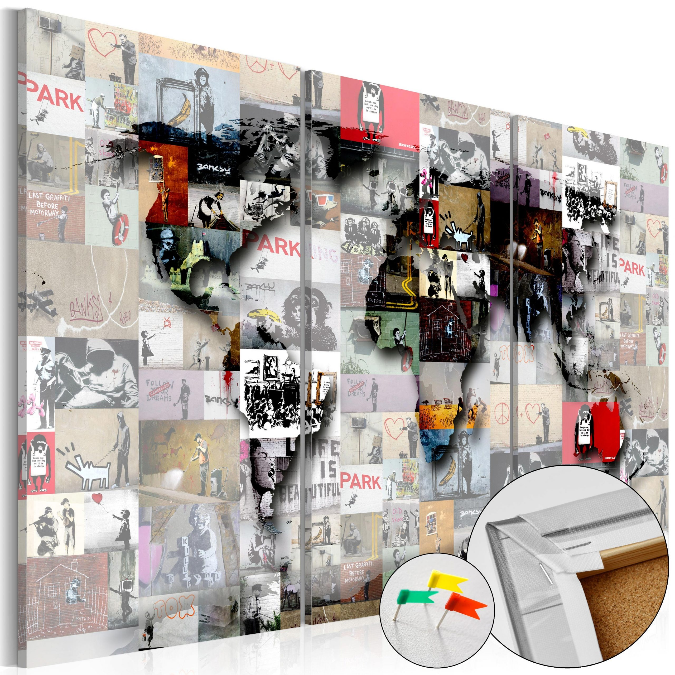 Full Size of Pinnwand Modern Worlds Map Cork Bilder Deckenleuchte Schlafzimmer Modernes Bett 180x200 Esstisch Küche Holz Moderne Esstische Weiss Tapete Design Fürs Wohnzimmer Pinnwand Modern