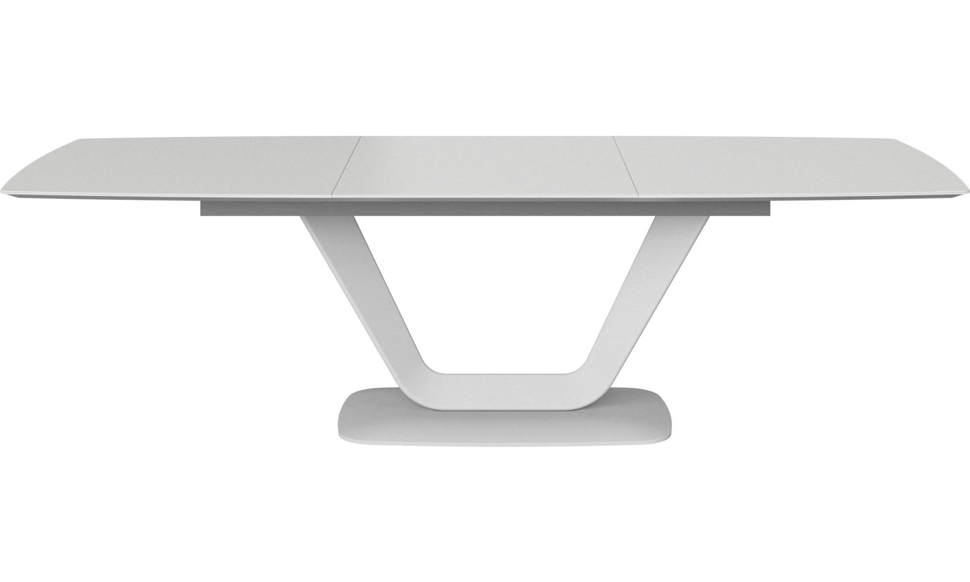 Full Size of Esstisch Weiß Oval Esstische Alicante Tisch Mit Zusatztischplatte Boconcept Klein Bett 200x200 4 Stühlen Günstig Betten Betonplatte Industrial Weißes Esstische Esstisch Weiß Oval