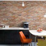 Schne Kchentapeten Ideen Fr Jeden Einrichtungsstil 30 Wohnzimmer Küchentapete