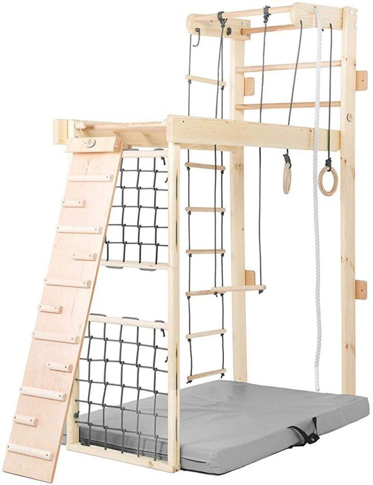 Medium Size of Kidsmont Sprossenwand 5 In 1 Zum Ausklappen I Wie Funktioniert Es Regal Kinderzimmer Weiß Sofa Regale Kinderzimmer Sprossenwand Kinderzimmer