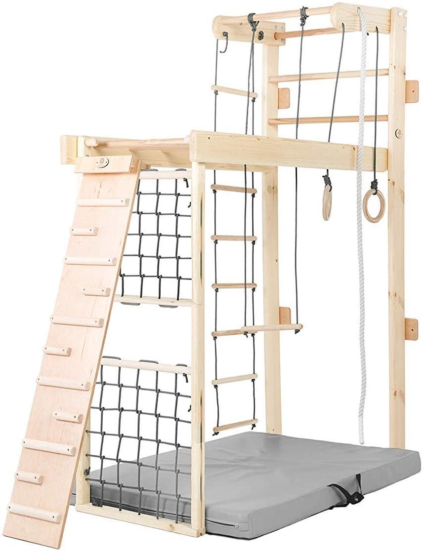 Full Size of Kidsmont Sprossenwand 5 In 1 Zum Ausklappen I Wie Funktioniert Es Regal Kinderzimmer Weiß Sofa Regale Kinderzimmer Sprossenwand Kinderzimmer