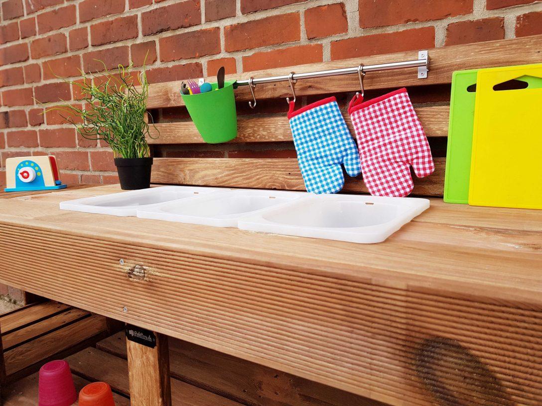 Large Size of Matschkche Kinderkche Aus Paletten Holz Xlmp 1 9 Paletteryde Deckenleuchten Küche Moderne Landhausküche Vorhang Nolte Weiße Segmüller Eckunterschrank Wohnzimmer Paletten Küche