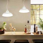 Vidaxl Hngelampen 2 Stk Wei Rund E27 Gitoparts Wohnzimmer Hängelampen
