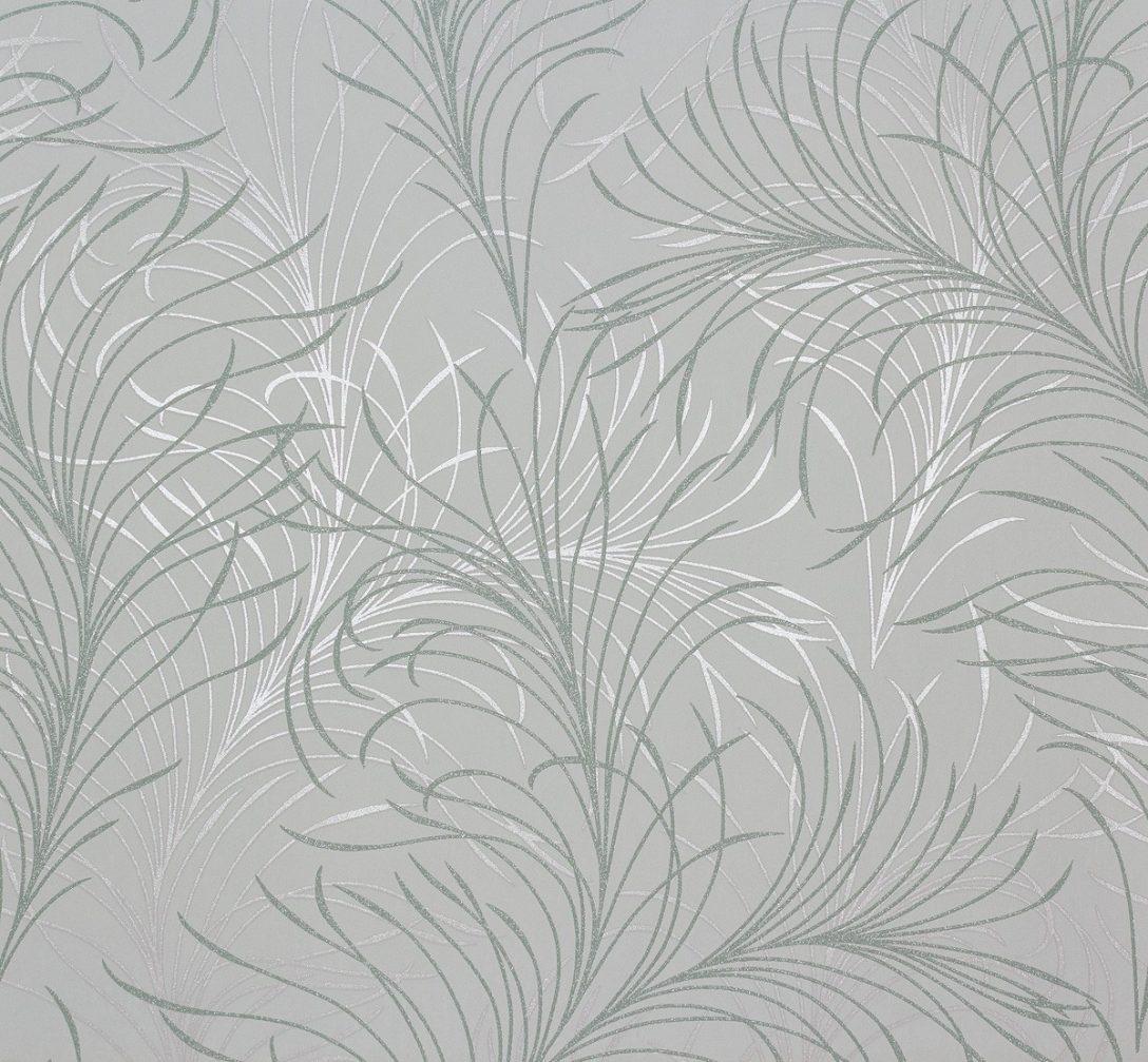 Large Size of Tapeten Modern Vliestapete Design Grn Silber Tapete Marburg Estelle 55715 Küche Holz Moderne Deckenleuchte Wohnzimmer Bett Für Modernes Sofa Weiss Die Bilder Wohnzimmer Tapeten Modern
