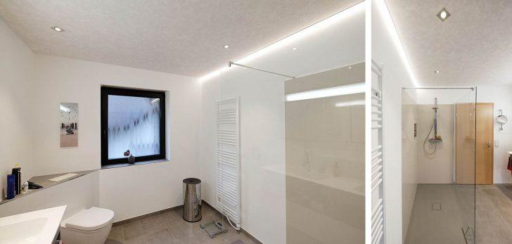 Medium Size of Indirekte Beleuchtung Decke Neues Badezimmer In Kirchhundem Wohnzimmer Led Deckenleuchte Decken Deckenlampe Spiegelschrank Bad Mit Und Steckdose Im Lampe Wohnzimmer Indirekte Beleuchtung Decke