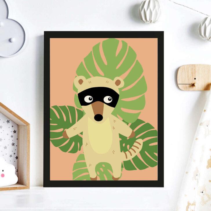 Medium Size of Bild Kinderzimmer Print Illustration Poster Nasenbr Wanddeko Regal Glasbilder Küche Wohnzimmer Bilder Xxl Modern Wandbild Bad Wandbilder Moderne Fürs Kinderzimmer Bild Kinderzimmer