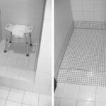 Behindertengerechte Dusche Altengerecht Behindertengerecht Maeek Bauunternehmen Fliesen Für Glastrennwand Einhebelmischer Walk In Begehbare Duschen Haltegriff Dusche Behindertengerechte Dusche
