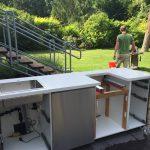 Diy Outdoorkche Ikea Hack Rut Morawetz Fliesen Für Küche Obi Einbauküche Günstig Vorratsschrank Mit Kochinsel Arbeitsplatte Holzregal Wasserhahn Laminat Wohnzimmer Outdoor Küche Bauen