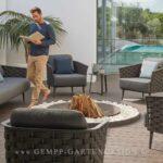 Terrassen Lounge Wohnzimmer Terrassen Lounge Gartenmbel Gempp Gartendesign Designmbel Sessel Garten Loungemöbel Günstig Holz Set Sofa Möbel