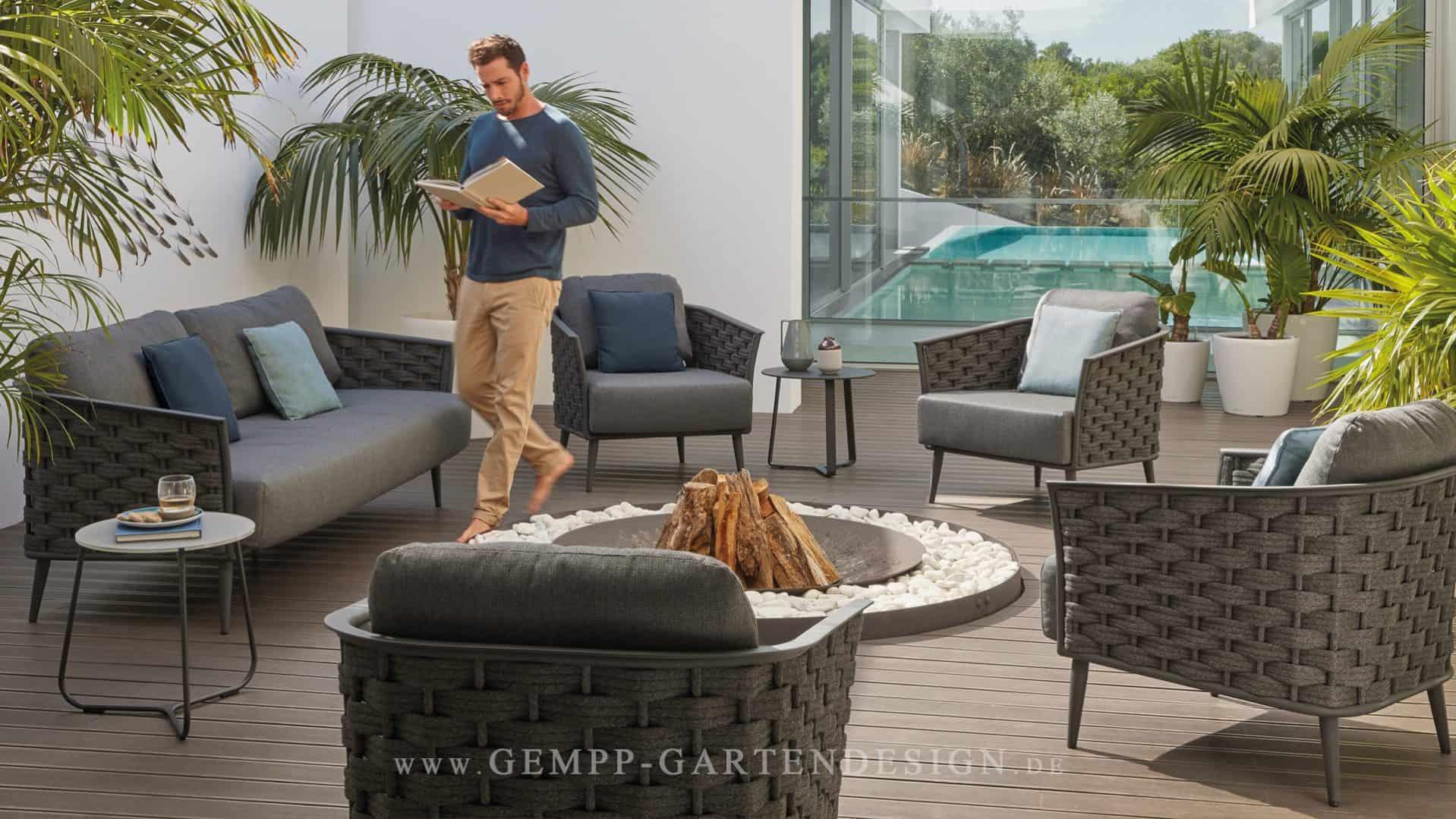 Full Size of Terrassen Lounge Gartenmbel Gempp Gartendesign Designmbel Sessel Garten Loungemöbel Günstig Holz Set Sofa Möbel Wohnzimmer Terrassen Lounge