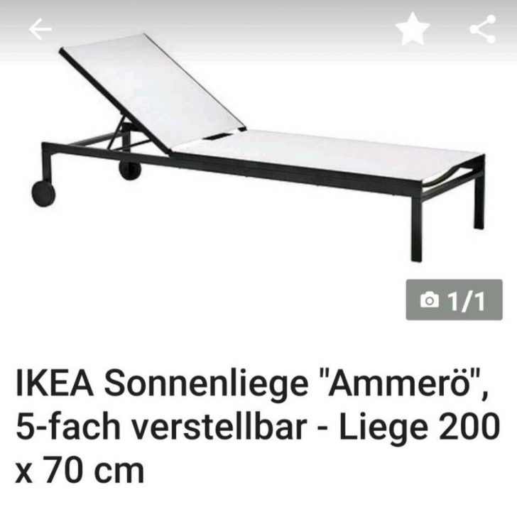 Medium Size of Ikea Liegestuhl Liege Gesucht In Nordrhein Westfalen Ldenscheid Küche Kosten Garten Sofa Schlaffunktion Kaufen Betten 160x200 Bei Wohnzimmer Ikea Liegestuhl