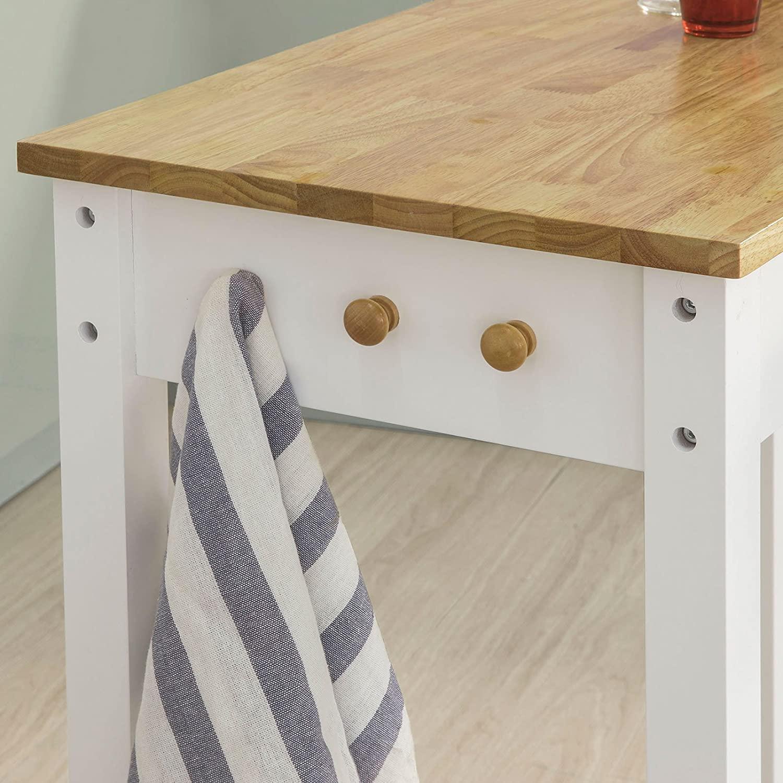 Full Size of Sobuy Fwt50 Wn Bartisch Set 3 Teilig Stehtisch Mit Haken Und Wohnzimmer Küchenbartisch