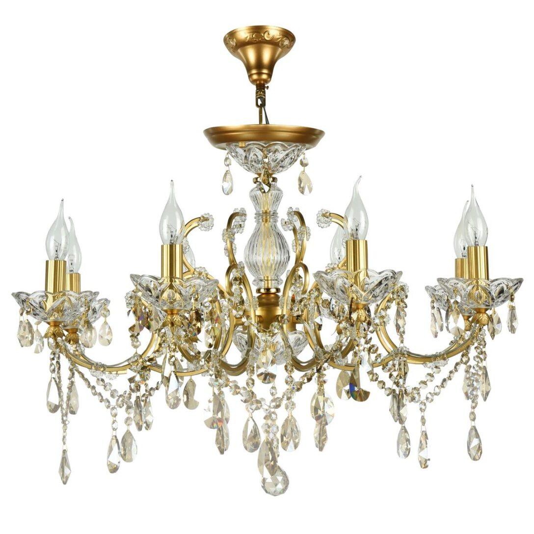 Large Size of Maytoni Sevilla 76 Cm Kristall Kronleuchter Gold Dia004 08 G Regale Kinderzimmer Regal Sofa Weiß Schlafzimmer Kinderzimmer Kronleuchter Kinderzimmer