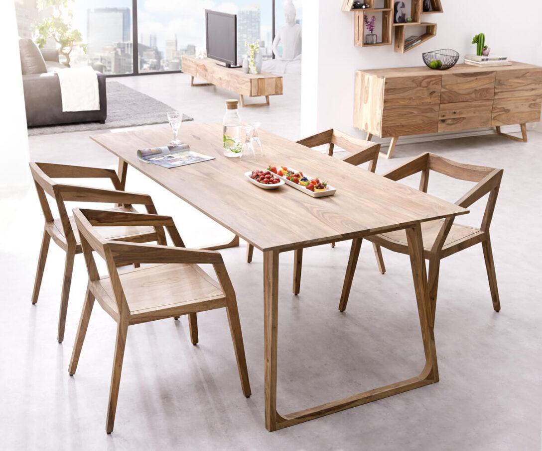 Large Size of Esstische Designer Esstisch Wyatt 200x90 Cm Sheesham Natur Mbel Tische Kleine Runde Design Holz Massivholz Moderne Massiv Rund Ausziehbar Esstische Esstische