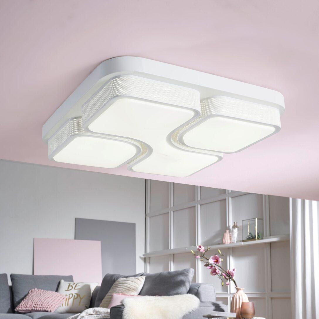 Large Size of Finebuy Led Deckenlampe 32w Lampe Wohnzimmer Deckenleuchte A Schlafzimmer Wandtattoos Relaxliege Hängeschrank Weiß Hochglanz Deckenlampen Modern Badezimmer Wohnzimmer Wohnzimmer Deckenleuchte