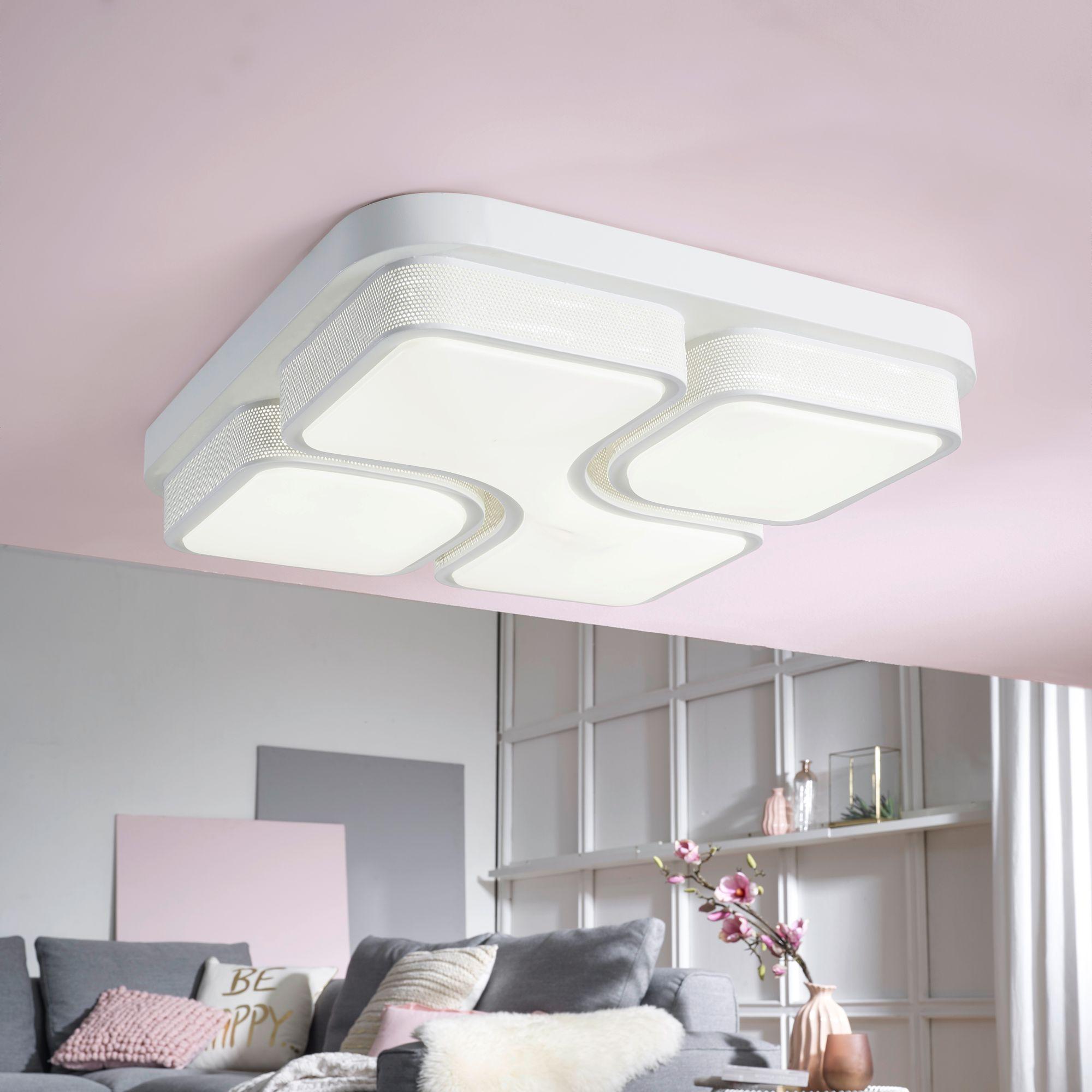 Full Size of Finebuy Led Deckenlampe 32w Lampe Wohnzimmer Deckenleuchte A Schlafzimmer Wandtattoos Relaxliege Hängeschrank Weiß Hochglanz Deckenlampen Modern Badezimmer Wohnzimmer Wohnzimmer Deckenleuchte
