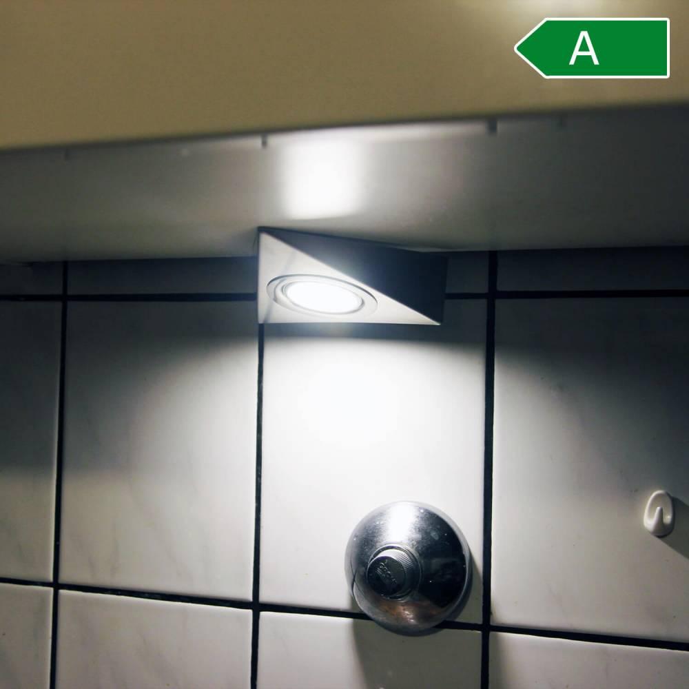 Full Size of Küchenleuchte Led Unterbaustrahler 3 Set Kchenleuchte Kche Dreiecksleuchten Wohnzimmer Küchenleuchte