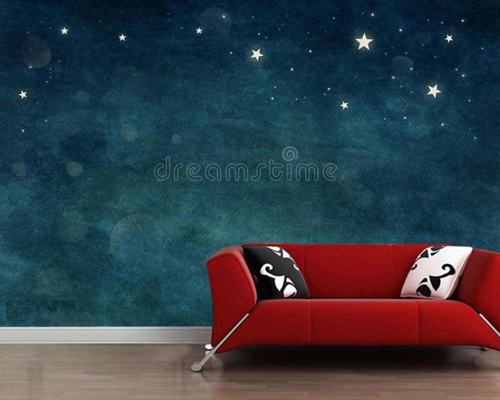 Full Size of Schlafzimmer Tapeten Papel Starry Sky Aquarell Abstrakte 3d Bar Tapete Wandtattoo Truhe Set Mit Boxspringbett Landhaus Komplett Weiß Eckschrank Fototapeten Wohnzimmer Schlafzimmer Tapeten