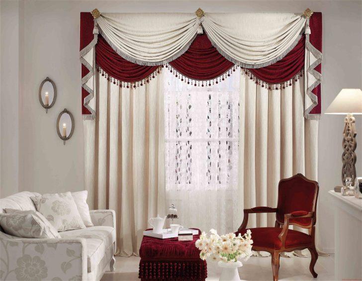 Medium Size of Beauteous Design Ideas Of Curtain Styles For Living Room With Red Gardinen Für Schlafzimmer Led Lampen Wohnzimmer Schrank Fenster Vitrine Weiß Gardine Wohnzimmer Gardinen Dekorationsvorschläge Wohnzimmer