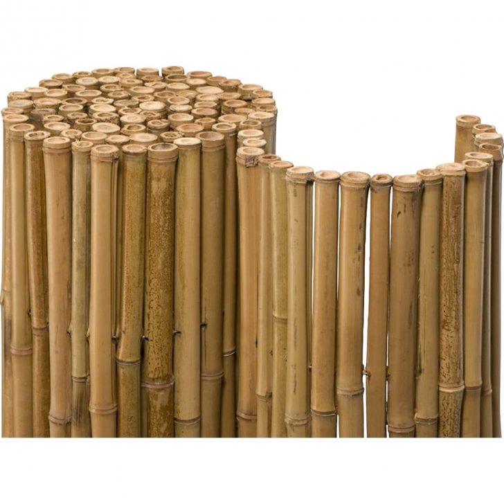 Medium Size of Bambus Sichtschutz Obi Bambusmatte Deluxe 150 Cm 250 Kaufen Bei Immobilienmakler Baden Regale Immobilien Bad Homburg Garten Sichtschutzfolie Für Fenster Wohnzimmer Bambus Sichtschutz Obi
