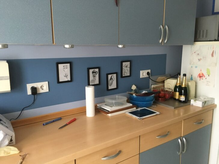Medium Size of Gestaltung Einer Kchenwand Malermeisterbetrieb Timo Blender Wohnzimmer Küchenwand