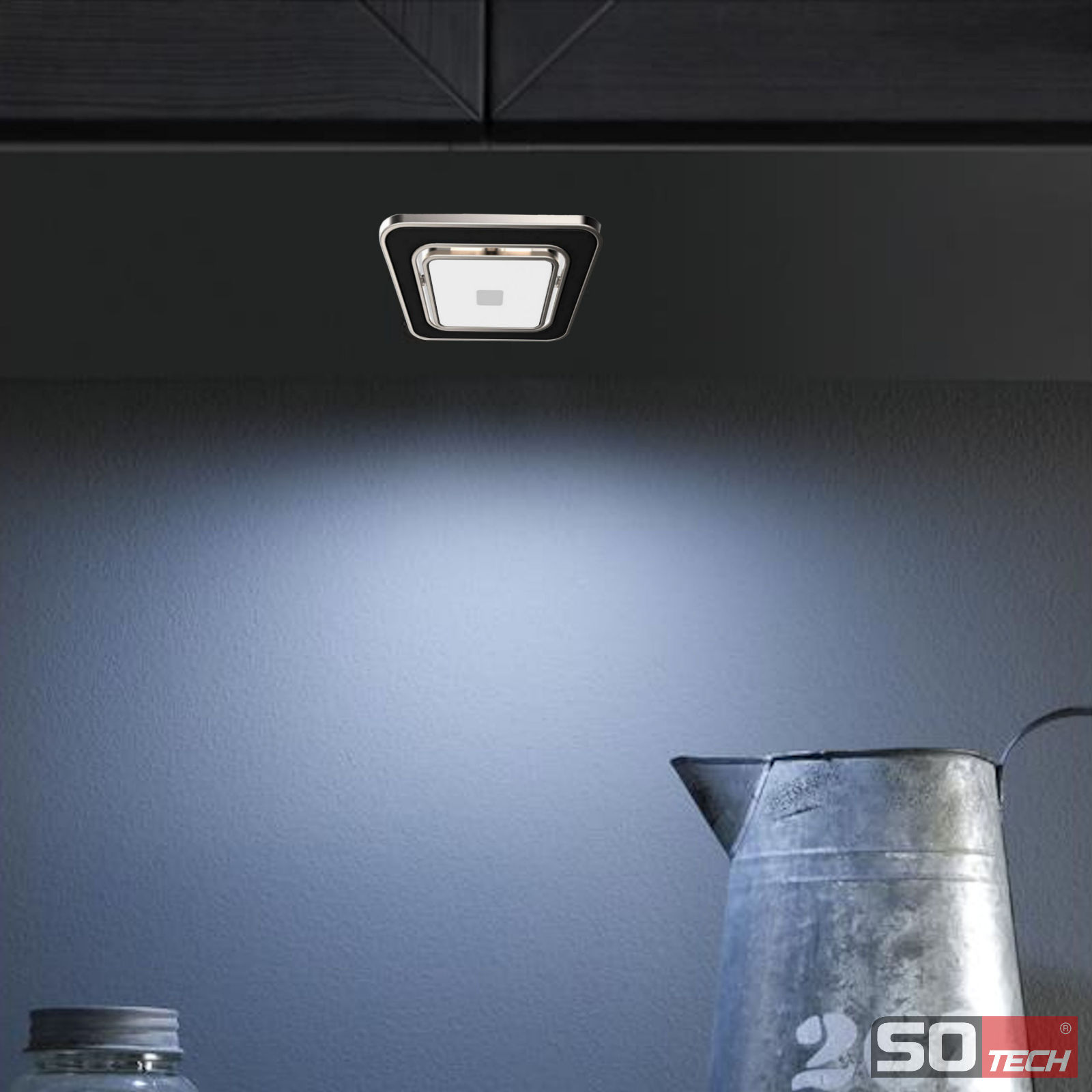 Full Size of So Tech Pan Light Led Einbauleuchte Regalleuchte Mbelleuchte Wohnzimmer Küchenleuchte