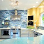 Kchenrckwand Schne Ideen Und Alternativen Zu Fliesenspiegel Bad Renovieren Wohnzimmer Tapeten Wohnzimmer Küchenrückwand Ideen