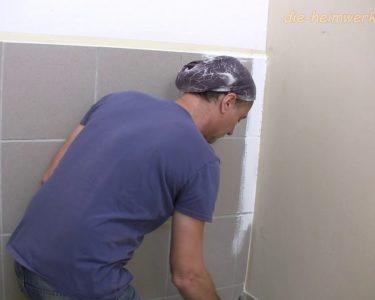 Bodenfliesen Streichen Wohnzimmer Bodenfliesen Streichen Fliesen Youtube Küche Bad