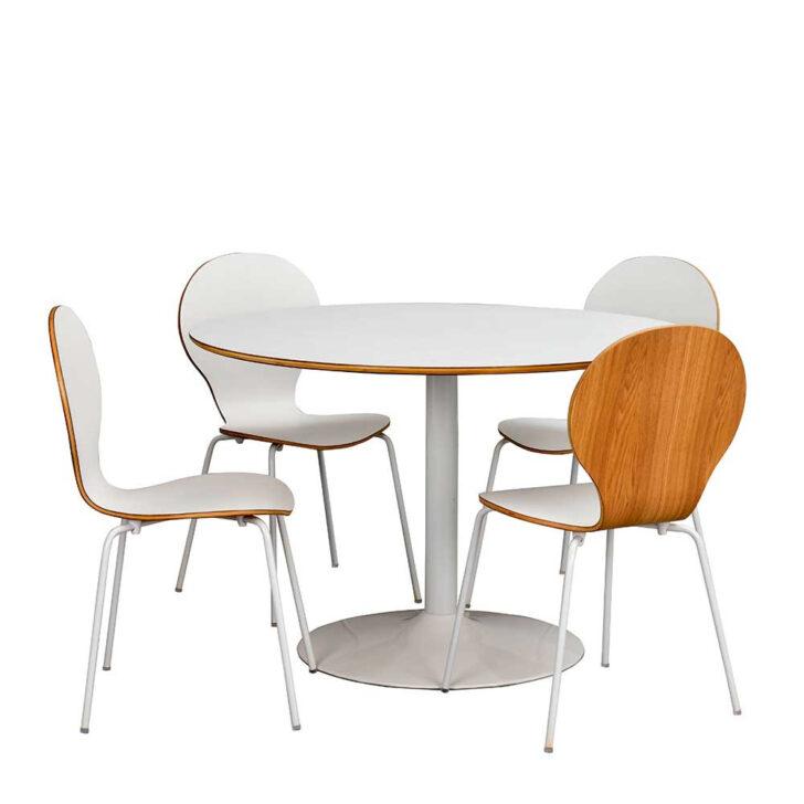 Medium Size of Esstisch Mit 4 Stühlen Günstig Kchen Tischgruppe Nandora Rundem Tisch Und Sthlen In Wei Paletten Bett 140x200 Esstische Ausziehbar Altholz Kaufen Sofa Boxen Esstische Esstisch Mit 4 Stühlen Günstig