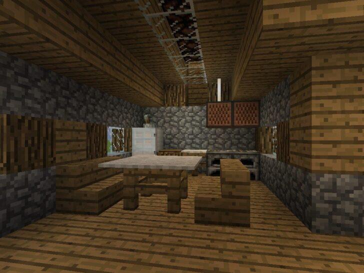 Medium Size of Moderne Kche In Minecraft Bauen Bauideende Küche Buche Sitzecke Jalousieschrank Pentryküche Regal Abfallbehälter Essplatz Kleiner Tisch Unterschränke U Wohnzimmer Minecraft Küche