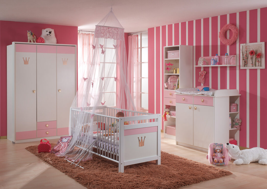 Large Size of Komplett Kinderzimmer Cindy Babyzimmer 6 Teilig Wei Rosa Neu Dusche Set Günstige Schlafzimmer Bad Komplettset Regale Komplettküche Komplettangebote Regal Kinderzimmer Komplett Kinderzimmer