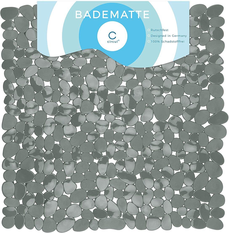 Large Size of Antirutschmatte Dusche Reinigen Waschbar Schimmel Rossmann Test Circul Duschmatte 53 Cm Grau Steinoptik Modern Amazonde Kleine Bäder Mit Eckeinstieg Dusche Antirutschmatte Dusche