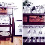 Ikea Hack Vom Frhja Servierwagen Zur Silvester Hausbar In Nur 4 Betten 160x200 Küche Kosten Sofa Mit Schlaffunktion Miniküche Bei Garten Modulküche Kaufen Wohnzimmer Ikea Servierwagen