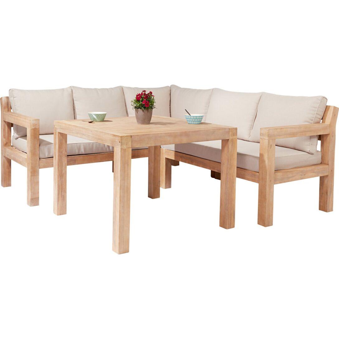 Gartenlounge Holz Mit Esstisch Weiss Garten Lounge ...