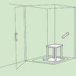 Mischbatterie Dusche Badewanne Mit 80x80 Tür Und Glaswand Einhebelmischer Bodengleiche Fliesen Barrierefreie Antirutschmatte Hsk Duschen Kleine Bäder Walk Dusche Barrierefreie Dusche