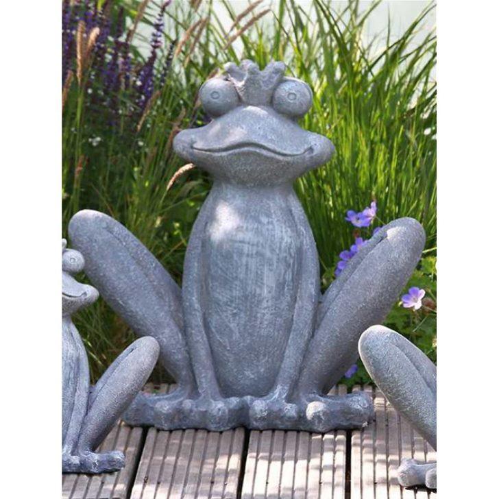 Medium Size of Skulptur Garten Froschknig Grau Magnesia Hhe 43cm Figur Sauna Lounge Set Sonnenschutz Mastleuchten Sichtschutz Im Ausziehtisch Beistelltisch Und Landschaftsbau Wohnzimmer Skulptur Garten